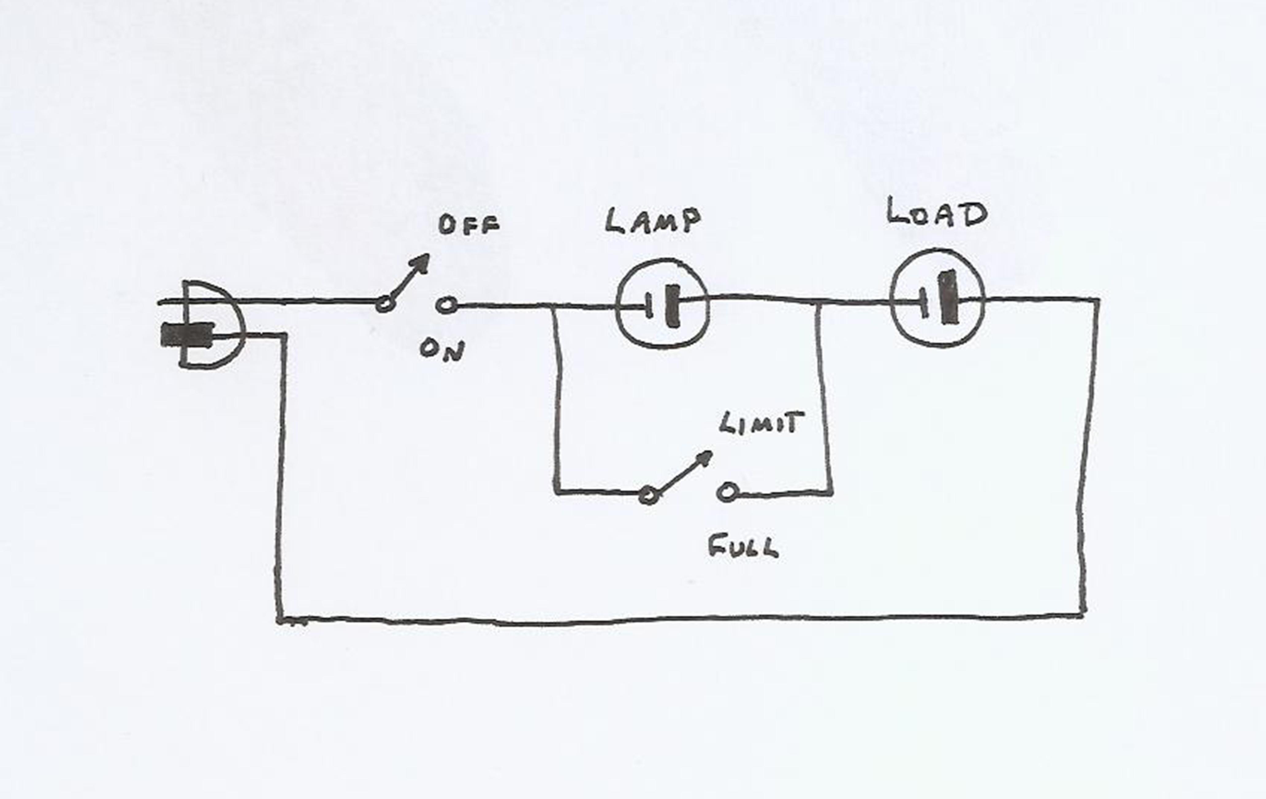 [dim bulb] [circuit diagram]